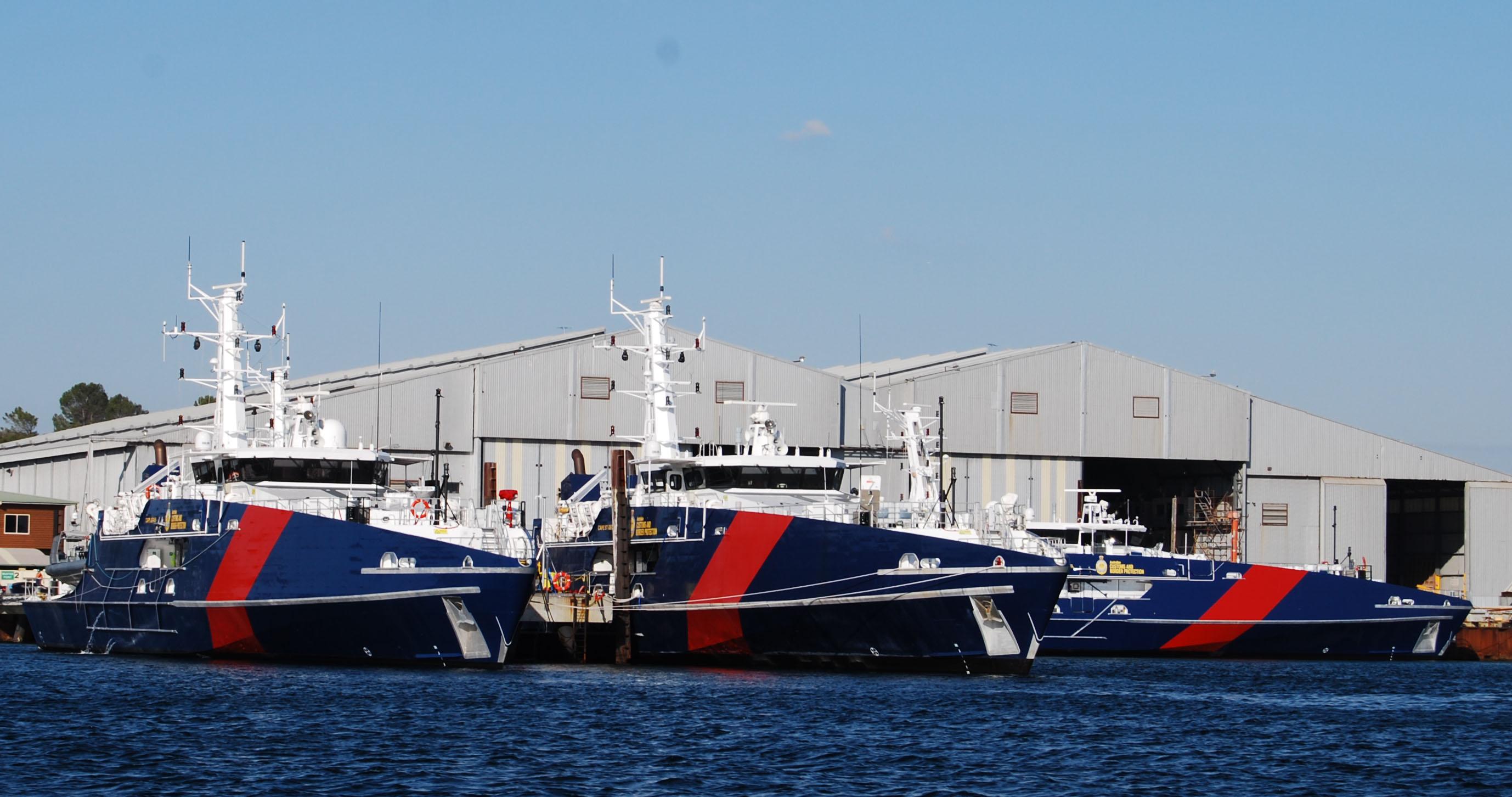 Cape Class Patrol Boats At Austal Australia Henderson Wa