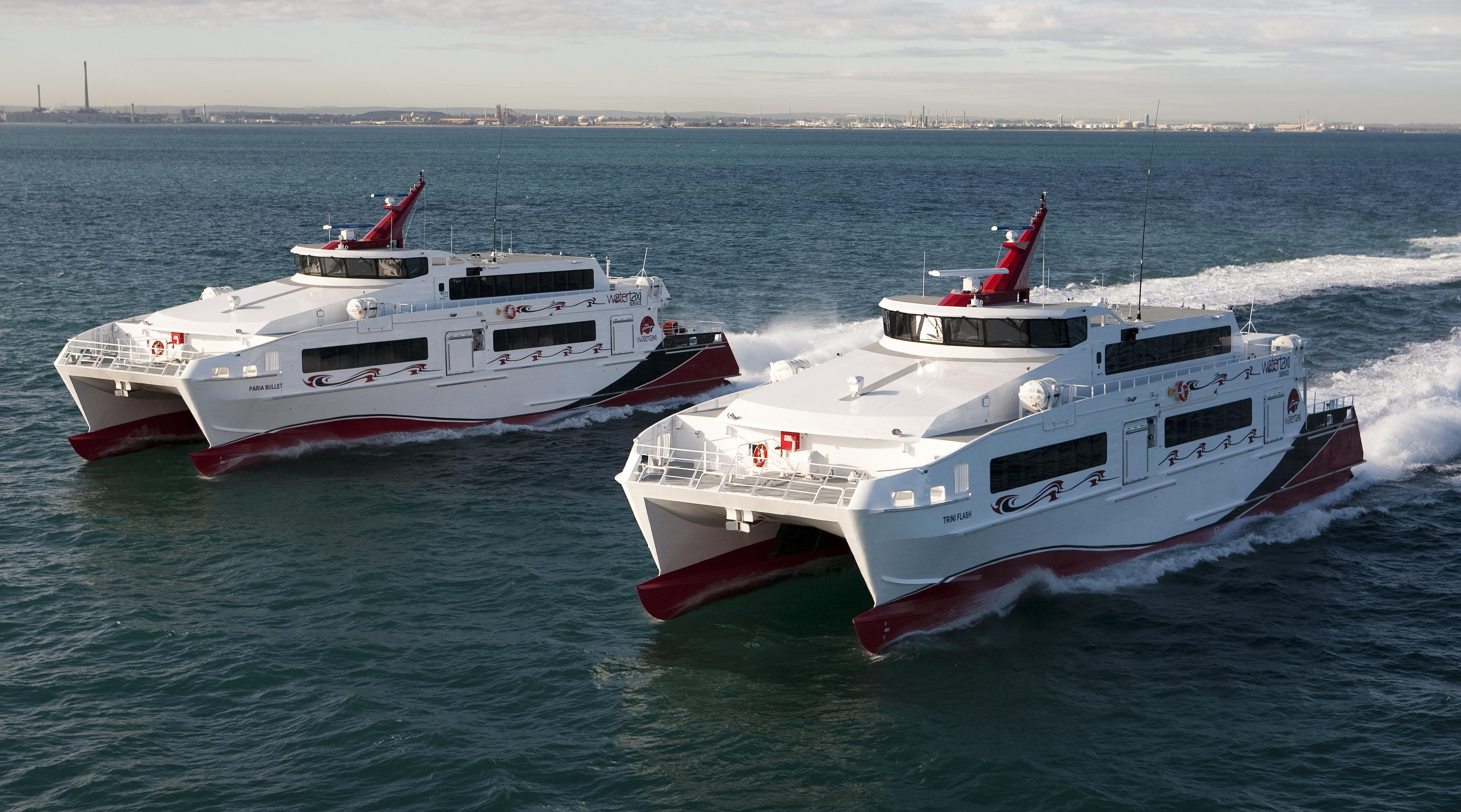trinidad and tobago water taxi 41m