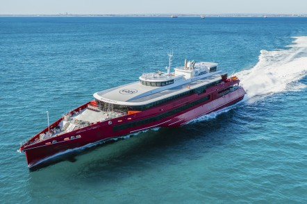Queen Beetle 83 metre trimaran ferry