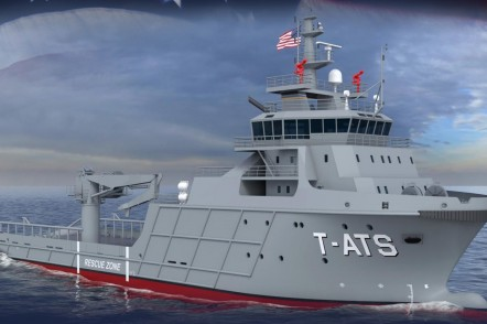 T-ATS Towing Salvage and Rescue Ship - US Navy