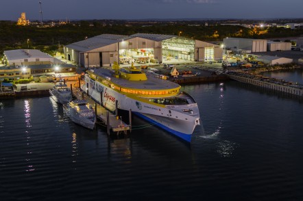 Austal Hull 394 Launch