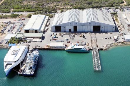 Austal Australia's operations in Henderson, Western Australia 2012