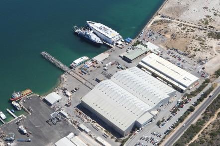 Austal Australi's shipyard in Henderson, WA 2012