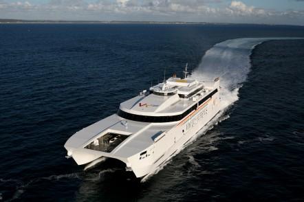 Jean De La Valette - 106m ropax ferry for Virtu Ferries