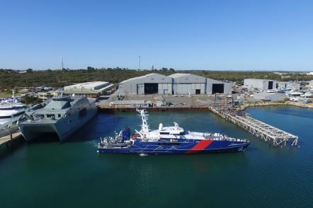 Austal Australia's Shipyard in Henderson, Western Australia