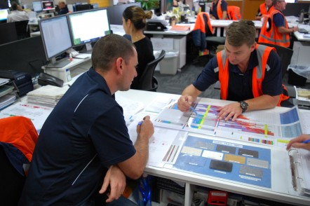 Austal Australia staff in Henderson, WA