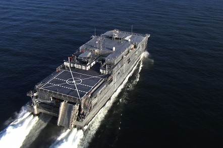 Expeditionary Fast Transport for the US Navy