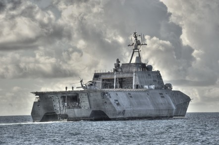 USS Independence (LCS 2) for US Navy