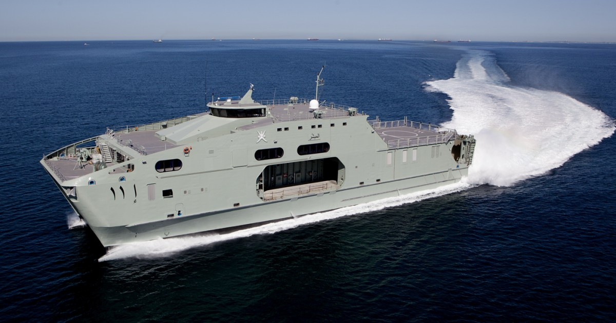 high speed support vessel 72