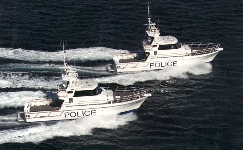 New South Wales Water Police 16m 2006 Austal Corporate
